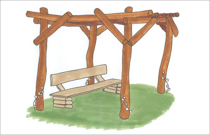Holz Nachttisch Selbst Bauen ~ Pin Pergola Aus Holz Oder Metall Fà ¼r Ein Sà ¼dliches Flair